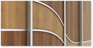 Lenktos dekoratyvinės juostelės